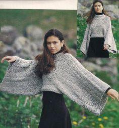 Agulhas e Pinceis: Blusa de tricô fácil