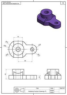 How to Draw A Loch Ness Monster - Drawing On Demand Isometric Sketch, Autocad Isometric Drawing, Mechanical Engineering Design, Mechanical Design, Isometric Drawing Exercises, 3d Drawing Tutorial, Orthographic Drawing, Solidworks Tutorial, Interesting Drawings
