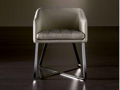 Cadeira estofada com estojo removível LOLITA Coleção Lolita by Meridiani