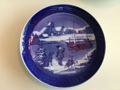 35 (!!) Royal Copenhagen Christmas Plates