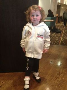 Good morning from Hannah - the cutest dancer at the 2014 World Irish Dancing Championship! — with Mari Stewart and 2 others at Hilton London Metropole. (From Hotel Facebook)
