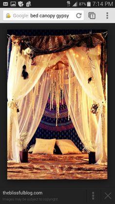 Gypsy inspired room