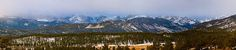 Colorado Rocky Mountains National Park Panorama Winter View by James Bo Insogna!