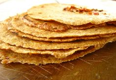 Flaxseed tortillas with coconut flour