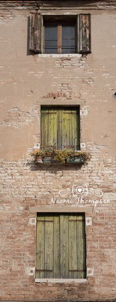 Streets of Venice. Edited in Lightroom. Verandas and Windows call to be photographed.