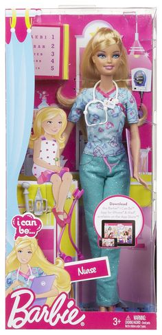 Barbie I Can Be... Nurse - Free Shipping