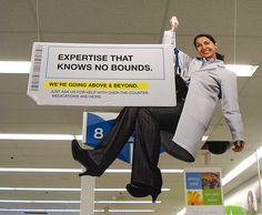 Walgreens Pharmacy Ceiling Dangler