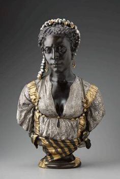 "Mauresque Noire ""Black Moorish Woman,"" Charles Cordier, 1856 - when others could not, he saw the beauty in dark skin waaaaay back when"