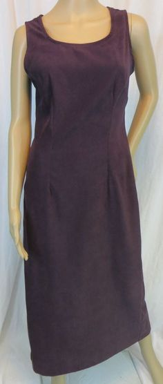 """JESSICA HOWARD"" PURPLE FAUX SUEDE DRESS - PLEASE SEE ALL PICTURES #JESSICAHOWARD"