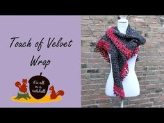 Here is the free crochet pattern for my Touch of Velvet wrap. It's an elegant design that is finished with a playful beaded edge. I must say that I am really happy with this design and it&#82…