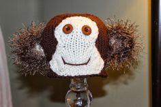 Lovewhorls Knits Monkey Hat 16.50