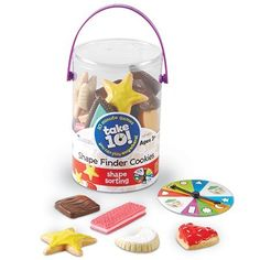Take10 Cookie Shape Finders - Preschool shape game for Lucy in a year or two.
