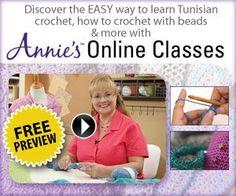 Learn How to Tunisian Crochet Online Class