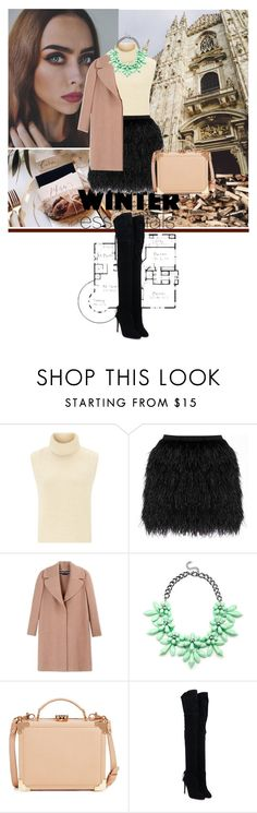 """Winter with JOHANNA"" by strange-girl0 ❤ liked on Polyvore featuring moda, Étoile Isabel Marant, Raoul, Rochas, Slate & Willow, Aspinal of London, Aquazzura ve winteressentials"