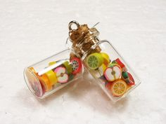 Jar of Fruit Earrings.