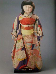 Book Hirata Goyo Creation Doll Collection Magazine Ichimatsu Geisha Child Gofun   eBay