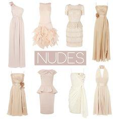 Nude Bridesmaid Dresses   Bride Bubble Wedding & Style Blog