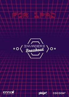 #invadersBreakout promotion screen 02 #ios Game made with #html5 https://itunes.apple.com/us/app/invaders-breakout/id956446467?l=de&ls=1&mt=8