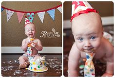Friendswood_TX_Cake_Smash_Baby_Child_Photographer Paisley Petals Photography