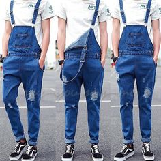 Men Dungarees Ripped Hole Denim Suspender Trouser Jumpsuits Overalls Jeans Pants is part of Hipster mens fashion - Men's Dungarees, Dungarees Outfits, Mens Overalls Fashion, Moda Indie, Men's Fashion, Fashion Outfits, Coachella Men Fashion, Fashion Quotes, Fashion History