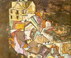Confins de la ville, 1917-18 by Egon Schiele (Austrian, 1890–1918)