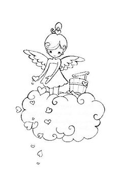Vintage Valentine Coloring Pages 1 Valentines Day Coloring Page, Coloring Book Pages, Digi Stamps, Copics, Pictures To Draw, Clipart, Embroidery Patterns, Sketches, Prints