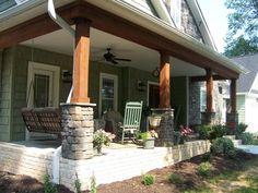 Exterior porches column ideas front porch columns for Hb g permacast columns price