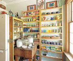 Open Kitchen Shelving   Google Search