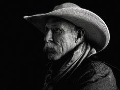 Robert Osborn, Alvin Pierce, Arrowhead Ranch, Immigrant Peak, Montana 2014, archival pigment print, 32 x 40.