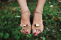 camel wedding shoes