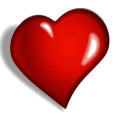Beautiful heart emoticon for facebook