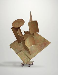 David Smith (1906–1965), Zig IV, 1961. Painted steel