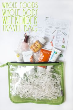 Whole Body Weekender Travel Bag First Impressions & Giveaway