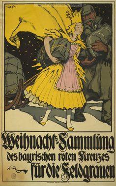 Examples of Propaganda from WW1 | German WW1 Propaganda Posters Page 5
