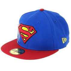 Cap DC COMICS X NEW ERA - REFLECTIQUE SUPERMEN 59FIFTY  #cap #new_era #dc_comics #superman ~£24 (30 euro)