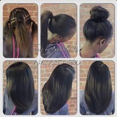 """Natural looking sew in Ideas/haircut/color/style/mermaid  """"Want this look?""""  twirl over to @premiereextensions   Are you sexy?  Do you Slay? Well it's time to treat your hair that way!!  Top Quality Sizzling Summer Savings @premiereextensions @premiereextensions  2 bundles $80  3 bundles $148  4 bundles $269 Frontals: $125 Closures: $110  Tag your favorite #hairstylist  & SHOP @premiereextensions http://ift.tt/1KBvaTi  Powered by @fitnessbodymovement  #hair #beauty #style #hairplug #salon…"""