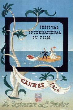 Première édition du festival (1946), réalisée par Leblanc