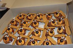 University of Tennessee Smokey Cupcakes. GBO!!