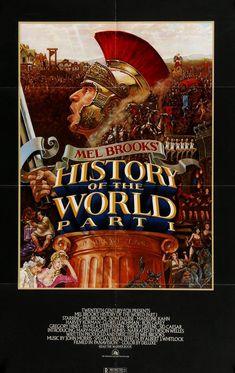 History of the World Part 1 (1981) Original One-Sheet Movie Poster