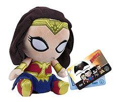 Funko Action Figure Mopeez Batman Vs Superman - Wonder Woman Plush