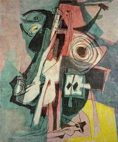 Afro Basaldella: La sopraffazione (1952) via Atlante dell'arte italiana