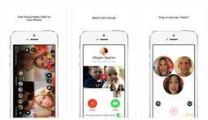 #Comunicación #aplicaciones #Internet Oncam, app para hacer videollamadas con varios usuarios y ver vídeos juntos