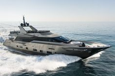 This 30 meter yacht embodies pure elegance, power and style. In 2013, the Italian shipyard Admiral Tecnomar unveiled their jewel...
