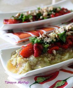 PATLICAN SALATASI   http://www.tumayinmutfagi.com/TarifYorum-633-yemek-tarifleri_patlican-salatasi.htm