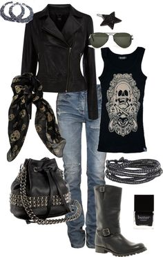 Edgy Casual....