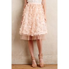 Anthropologie Dresses & Skirts - Anthropologie Eva Franco Fluttered Fete Midi Skirt