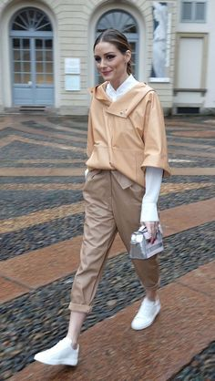 Olivia Palermo out to Fashion Week in Milan - February 23 2018