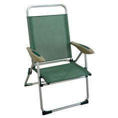 Klappliegestuhl  Chaise longue / chilienne pliante en acacia grisée L 111 cm Panama ...