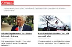 Plzeňské aktuální zprávy, zprávy Plzeň aktuálně - zpravodajství Plzeň - Zpravodajský portál plzen.cz. VŽDY AKTUÁLNĚ. http://plzen.cz/category/zpravodajstvi/aktualne/