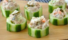 Αγγουράκια γεμιστά με τόνο - Συνταγές Μαγειρικής - Chefoulis